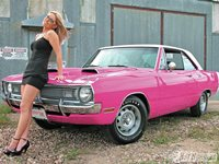 Pink Dart with Girl