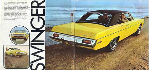 1970 Dodge Dart Swinger Ad