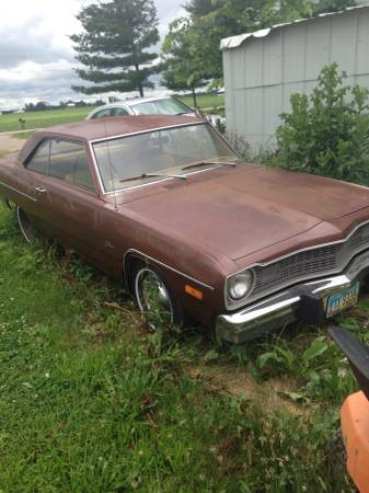 1973 Dodge Dart 2 Door Swinger For Sale in Greenville, OH