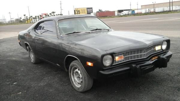 1973 dodge dart 2 door sport for sale in mcallen tx. Black Bedroom Furniture Sets. Home Design Ideas