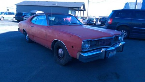 1976 dodge dart 2 door coupe for sale in spokane wa. Black Bedroom Furniture Sets. Home Design Ideas
