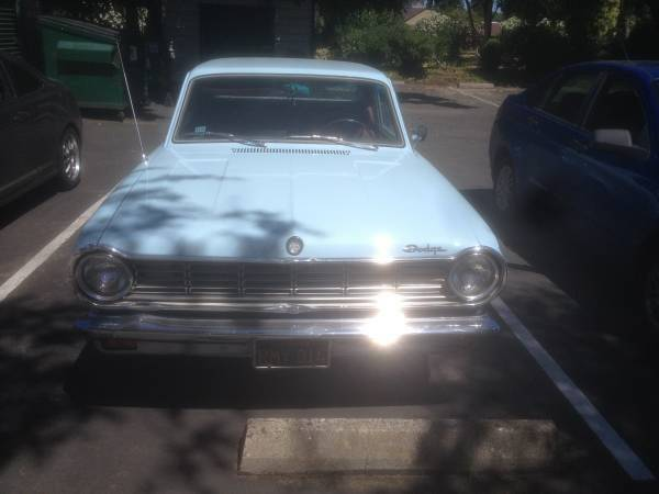 1965 Dodge Dart 4 Door For Sale In Chico Ca