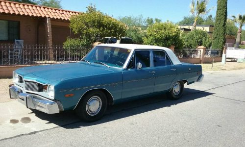 1976 dodge dart 4 door for sale in nogales az. Black Bedroom Furniture Sets. Home Design Ideas