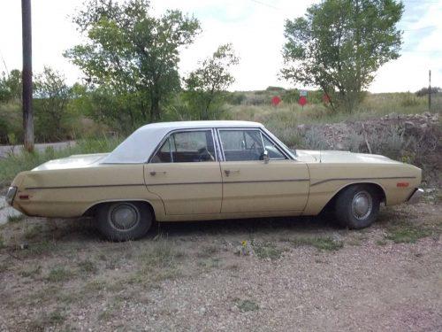 Slo Craigslist: 1973 Dodge Dart 4 Door For Sale In Colorado Springs, CO